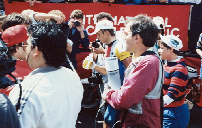 Greg LeMond, winner of the Coors Classic in his first year as a pro in 1980