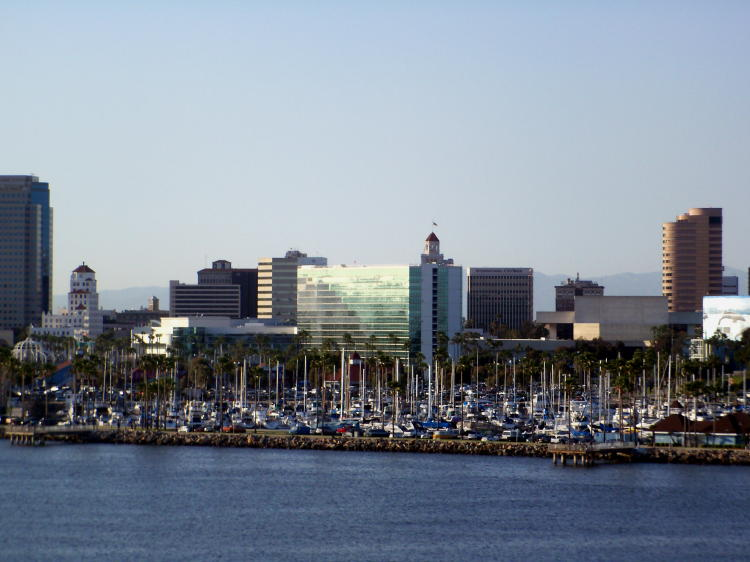 Long Beach, CA waterfront