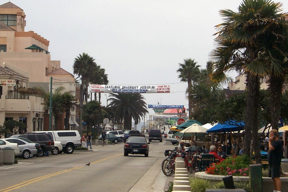 Downtown Huntington Beach, CA