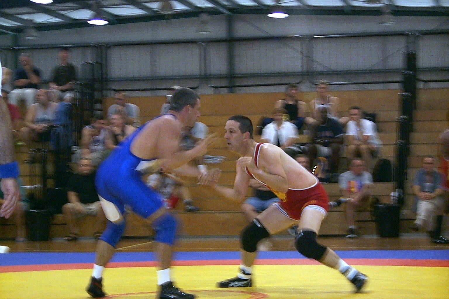 from Warren gay sydney wrestling